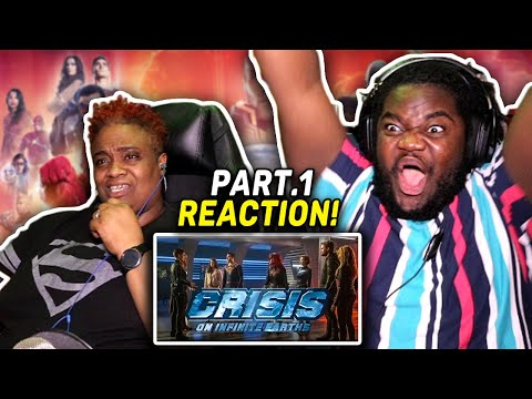 YES! - Crisis On Infinite Earths PART 1 : REACTION WITH MOM!