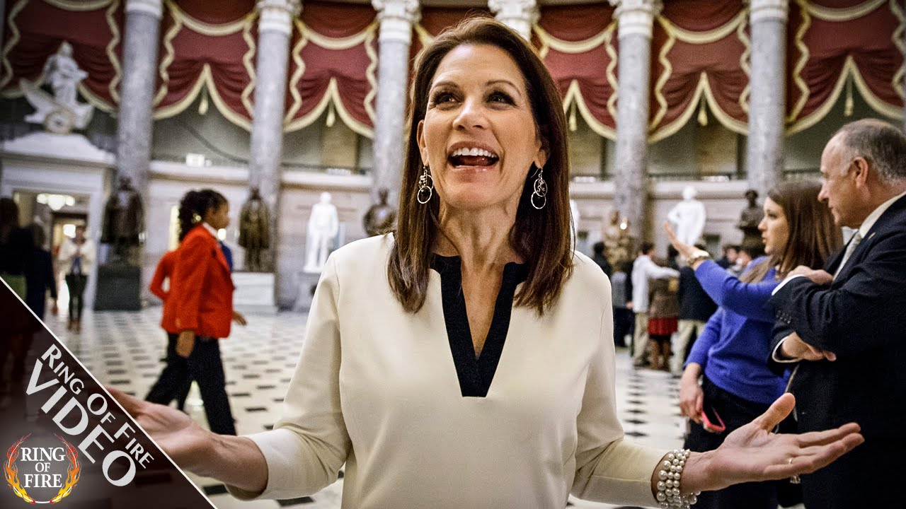 Michele Bachmann Now Advising Trump On Foreign Policy thumbnail