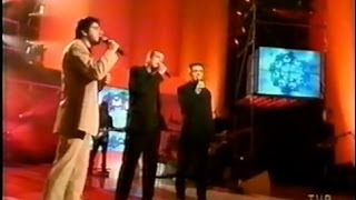 GAROU, DANIEL LAVOIE & PATRICK FIORI - Belle (Live / En public) 1999