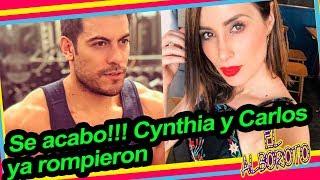 Cynthia Rodriguez y Carlos Rivera ya no estan juntos