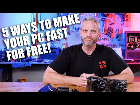5 Ways to make your PC Faster for FREE!