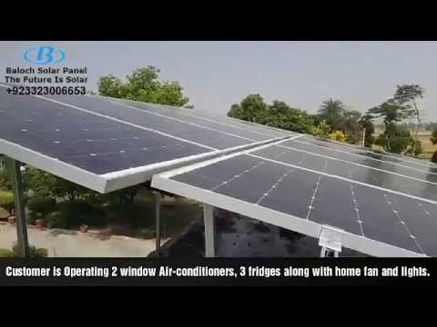 How Many Solar Panels needed to Run 2 AC and full home load
