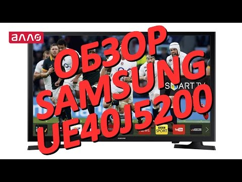 Видео-обзор телевизора Samsung UE40J5200
