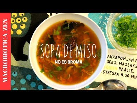 SOPA DE MISO | Saludable, Macrobiótica y Vegano