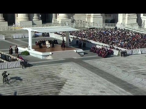 Audience générale du 16 novembre 2016