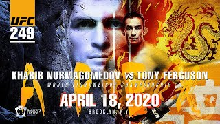 UFC 249: Khabib Nurmagomedov vs Tony Ferguson 'You Have To Beat Everybody' Promo, Official Apr 2020