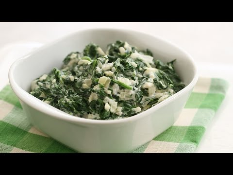 Easy Creamed Spinach – Everyday Food with Sarah Carey