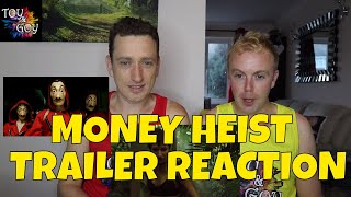 money heist season 3 trailer reaction english - TH-Clip