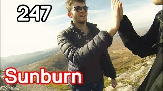 VLOG 247 - Sunniest day in IRELAND EVER !
