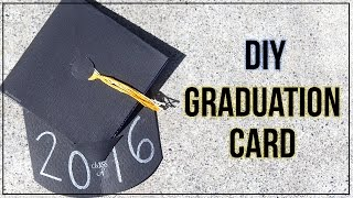 How To Make A Graduation Card {Graduation Cap}