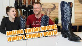 Amazing Vintage Nocona Womens Cowboy Boots!