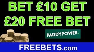 How To Open An Account and Get a Free Bet from Paddy Power