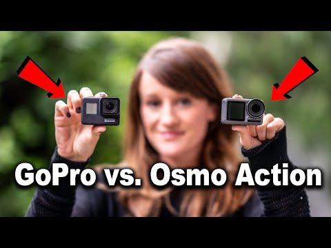 DJI Osmo Action or GoPro?