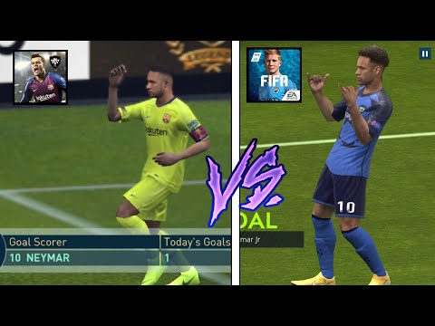 FIFA 19 vs PES 2019   NEW Gameplay Features and Graphics