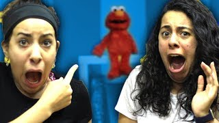 SCARY Tickle Me Elmo COMES ALIVE at 3AM!