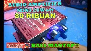 Ampli Mini Amplifier Speaker 2 channel 20W Hi-fi Stereo
