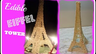 HOW TO--EDIBLE EIFFEL TOWER