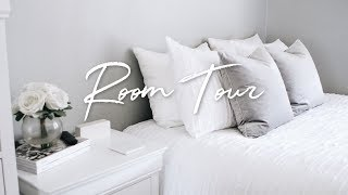 OFFICIAL ROOM TOUR! BRIGHT WHITE & GREY (2018)