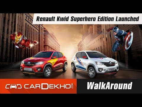Renault Kwid Superhero Edition Launched I WalkAround I