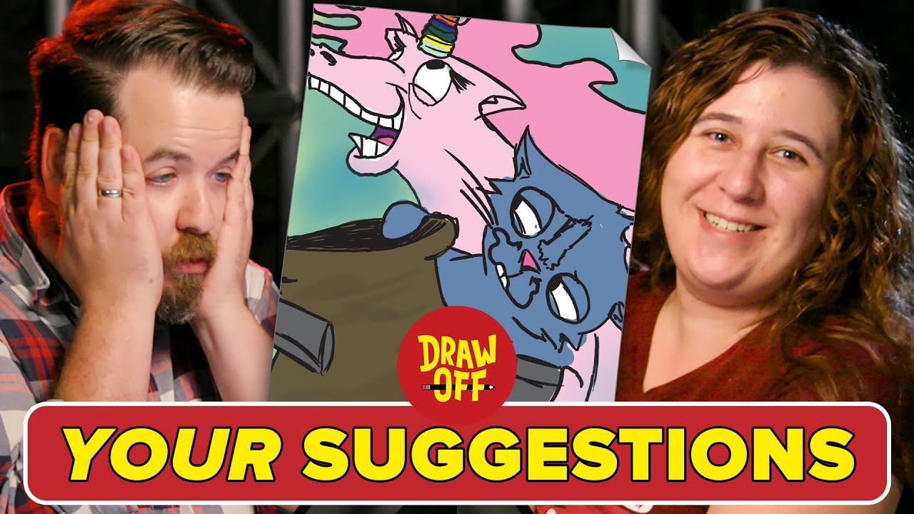 Animator Vs. Cartoonist Draw Subscriber Suggestions thumbnail