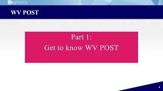 Play WV POST Program 2021 (part 1)