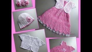 Crochet Baby Dress| For Free |crochet Patterns| 1976