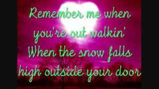 Tim Mcgraw Remember Me With Lyrics