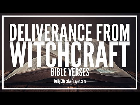 Bible Verses On Deliverance From Witchcraft Evil Unclean Spirits | Scriptures (Audio Bible)