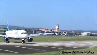 preview picture of video 'Dominican Plane Spotters: Cibao International Airport (STI / MDST) - 15 Dec 2013'