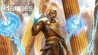Hermes The Winged Herald and Messenger of the gods | Mercury | Greek Mythology gods #2