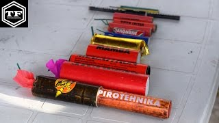 TESTING POWER OF FIRECRACKERS