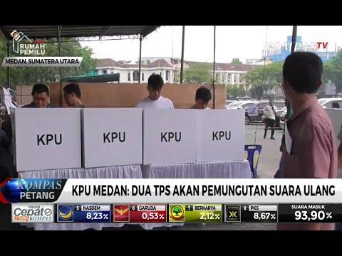 KPU Medan: 2 TPS Akan Pemungutan Suara Ulang