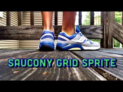 "Saucony Grid 9000 ""Sprite"" ON FEET"