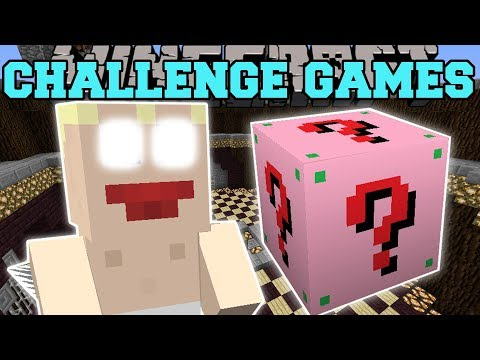 Minecraft: CUPID CHALLENGE GAMES - Lucky Block Mod - Modded Mini-Game