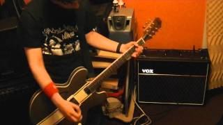 "Angels And Airwaves ""Anxiety""  New Song Guitar Cover 2011"
