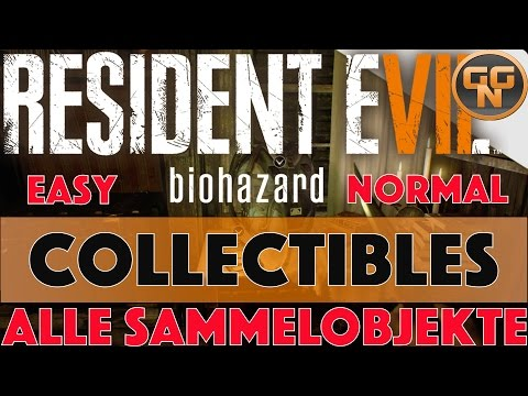 Thaivideo Resident Evil 7 Sammelobjekte Collectible Fundorte