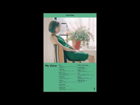 [FULL ALBUM] Taeyeon - My Voice