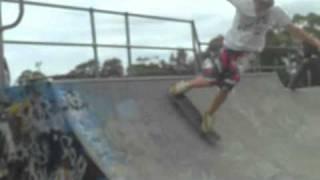 Hour at kinny skatepark- The Warning Hot Chip