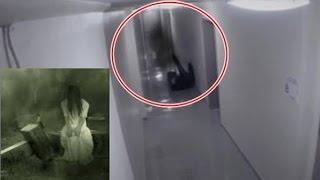 Clip 10 cảnh ma có thật rùng rợn quay bằng camera an ninh