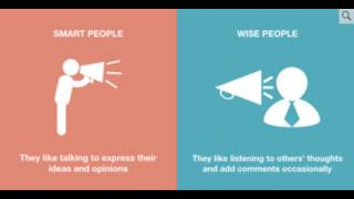 8 Crucial Differences Between Smart People And Wise People