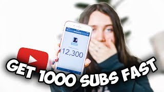 HOW TO GET YOUR FIRST 1000 SUBSCRIBERS FAST 2020