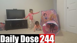THE CRAZIES VS THE TENT - #DailyDose Ep.244 | #G1GB