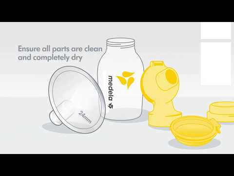 Symphony double electric breast pump