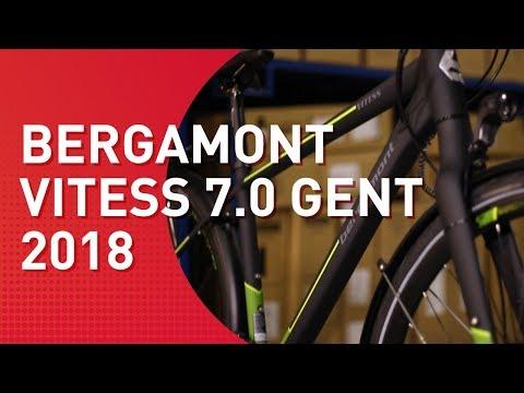 Bergamont Vitess 7.0 Gent - 2018 - Trekkingrad