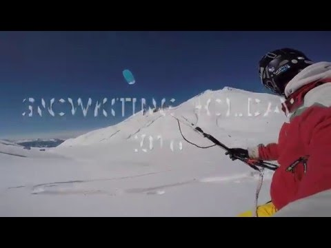 Snowkiting holiday promo 2016
