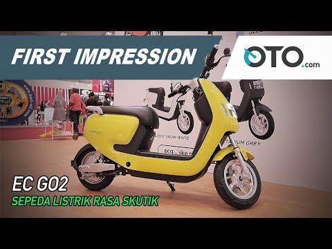 EC-GO2 | First Impression | Sepeda Listrik Rasa Skutik | GIIAS 2019 | OTO.com