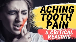 Tooth Pain Relief   Toothache Causes
