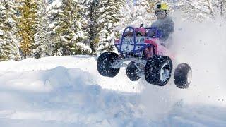 50 HP Barbie Jeep Jumps! + Full Engine Rebuild!
