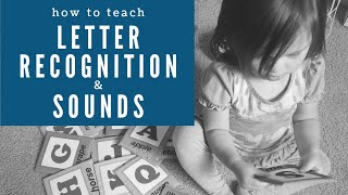 Teach Letter Recognition And Letter Sounds FAST & SIMPLE