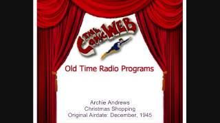 Archie Andrews: Christmas Shopping – ComicWeb Old Time Radio